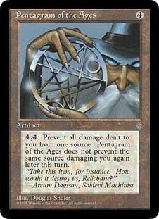 Pentagram Magic (Pentagram of the Ages (Magic the Gathering : Ice Age Rare))