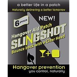 Ntrinsiq Works Slingshot - hangover Prevention Patch - Made With B-Complex (B1, B2, B3, B5, B6, B7, B9, B12), N-acetyl Cysteine & Ginseng (30 Pack)