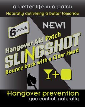 Ntrinsiq Works Slingshot - hangover Prevention Patch - Made With B-Complex (B1, B2, B3, B5, B6, B7, B9, B12), N-acetyl Cysteine & Ginseng (90 Pack)