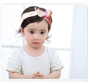 Hocaies Baby Kinder Haarband M/ädchen Stirnband Kopfband Blumen Bl/üte Haarschmuck Headband Hairband 03