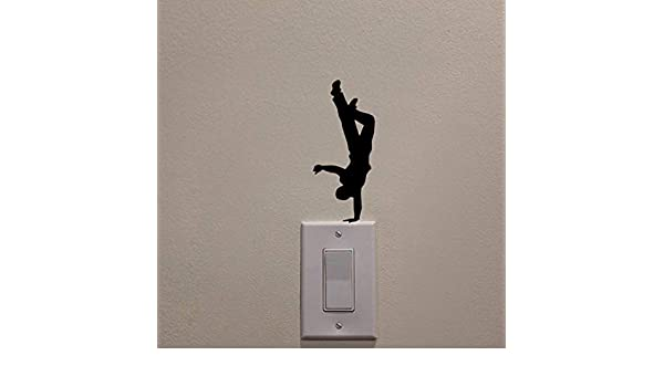 amayituo Black Creative DIY Extreme Sport Switch Wall ...