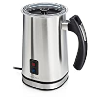 Brewberry Electric Milk Frother & Heater, Stainless Steel
