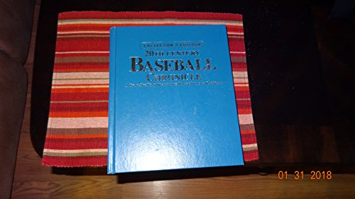 Book cover from 20th Century Baseball Chronicle : A Year-By-Year History of Major League Baseball by David Nemec