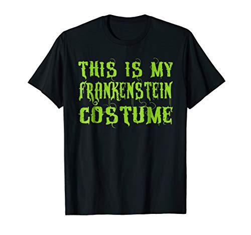 (This Is My Frankenstein Costume T-Shirt Kids Men)