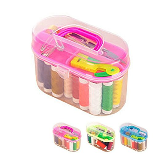 Mega Shop Sewing Kit Craft Tools Supplies Mini Box Enhanced