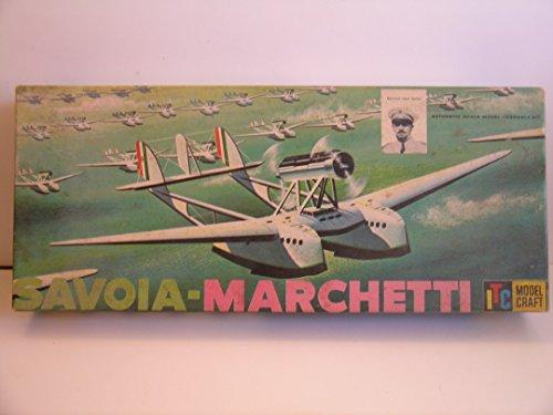 itc-model-craft-savoia-marchetti-rare-plastic-model-kit