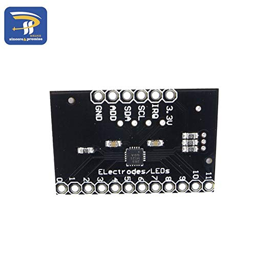 BeediY 5pcs//lot MPR121 Breakout v12 Proximity Capacitive Touch Sensor Controller Keyboard Development Board