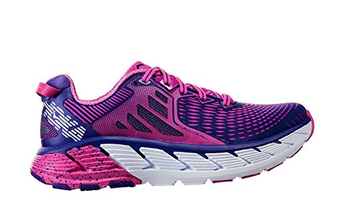 Hoka One Gaviota Fuchsia/Liberty Running Shoes