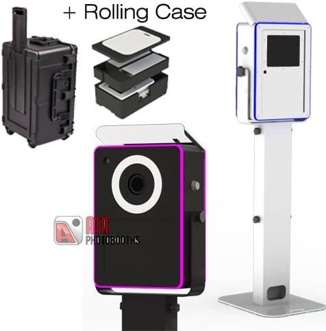 Travel CASE, Black Lumia Photobooth Attractive Aluminum Enclosure Quick Flip Bounce Card Column Baseplate /& Strobe Flash Medium DIY Shell