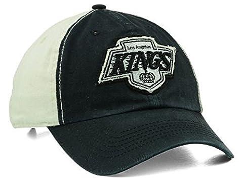 '47 Brand NHL Los Angeles Kings Derby Clean Up Black/White Adjustable Hat Osfa (Los Angeles Kings Hat 47)