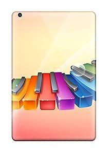 Pretty Ipad Mini Case Cover/ Rhythmic Colorful Piano Series High Quality Case 4273117I96874325