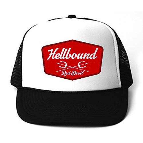 - Red Devil Clothing Hellbound Badge Trucker Black