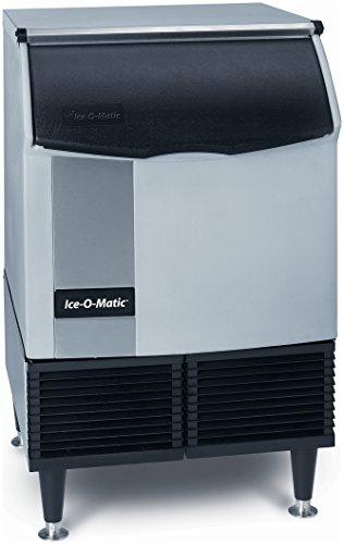 "Ice-O-Matic ICEU150HA 30"" Air Cooled Undercounter 185 lb. Half Size Cube Ice Maker - 70 lb. Bin"