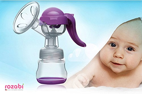 HANDY ROZABI – Manual Breast Pump/ Gently Massage/ free- BPA PP, soft, safe and healthy by ROZABI