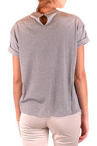 Brunello T shirt Ezbc002013 Gris Algodon Cucinelli Mujer rqrnA6