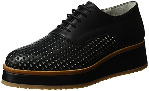 Strenesse Damen Shoe Meta Derby Schwarz (Black)