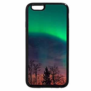 iPhone 6S Plus Case, iPhone 6 Plus Case, northern lights in starry sky at twilights