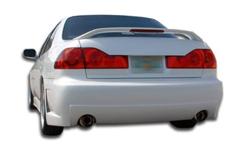 Duraflex Replacement for 1998-2002 Honda Accord 4DR B-2 Rear Bumper Cover (dual exhaust) - 1 Piece