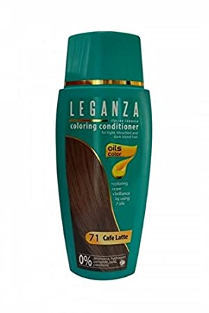 Saving Pack 2 x Leganza Coloring Conditioner Color 71 Cafe Latte ...