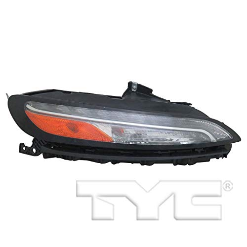 - CarLights360: Fits 2014 2015 2016 2017 2018 Jeep Cherokee Turn Signal/Parking Light Assembly Passenger Side (Right) NSF w/Bulbs Halogen on S.L, LED on P.L/DRL Type - Replacement for CH2531104