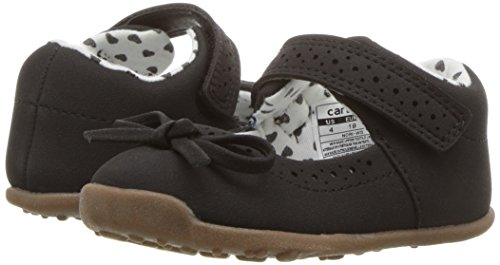 Carter's Every Step Girls' Stage 3 Walk, Nori-WG Mary Jane Flat Flat, Black, 4.5 M US (12-18 Months) - Image 6