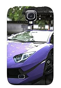 Top Quality Protection Lamborghini Aventador Case Cover For Galaxy S4 With Appearance/best Gifts For Christmas Day