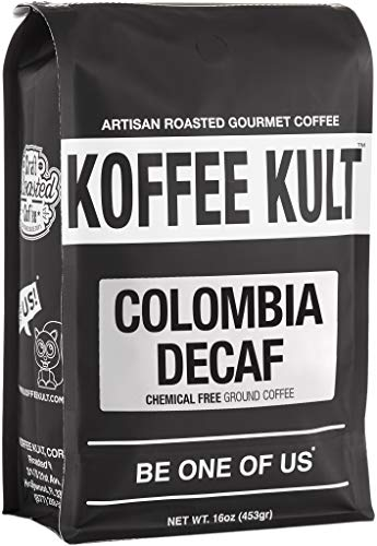 Koffee Kult Colombian Decaf Coffee