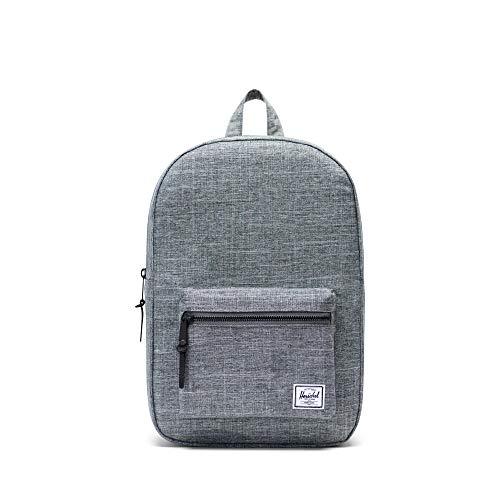 Herschel Settlement Mid-Volume Backpack - Raven Crosshatch