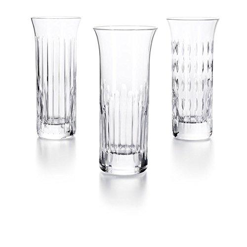 Baccarat Crystal Flora Vase Set of 3 #2810832