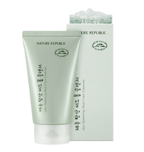 Nature-Republic-Jeju-Sparkling-Mud-Foam-Cleanser-150ml