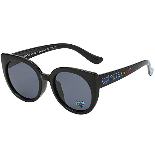 Pete the Cat Toddler Kids Girls Polarized Retro Cateye Sunglasses - BPA Free