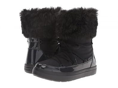 feb164e36e0fa0 crocs(クロックス) レディース 女性用 シューズ 靴 ブーツ スノーブーツ LodgePoint Lace Boot -