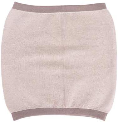SUPVOX Winter Kaschmir Nierenwärmer Rückenwärmer Elastic Taille Unterstützung Taille Beschützer für Herren Frauen Hexenschuss Rückenschmerzen (Kaffee S)