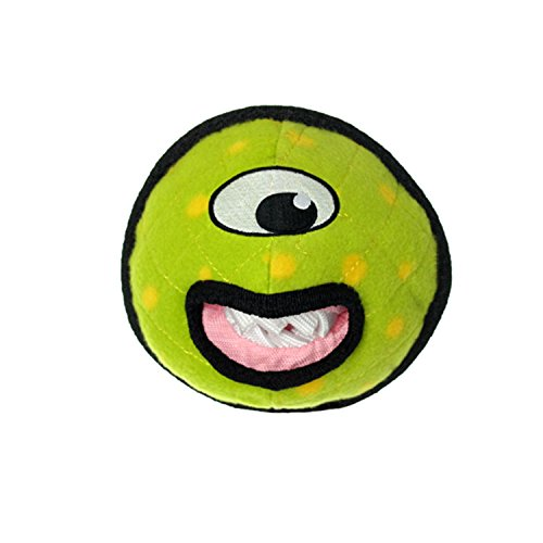 Image of TUFFY Alien Ball Durable Dog Toy, Green