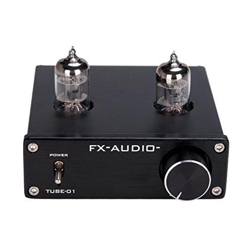 Lysignal 6J1 Tube Box Headphone Amplifier Preamp DC12V Black