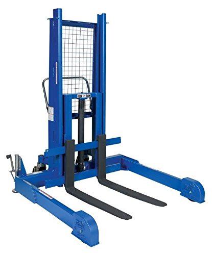 Hand Pallet Truck - BLL-PMPS Series; Fork Size (W x L): 4'' x 36''; Raised Height: 50''; Capacity: 1,200 lbs.; Operation: 12 V DC, AC or Air/Oil (specify)