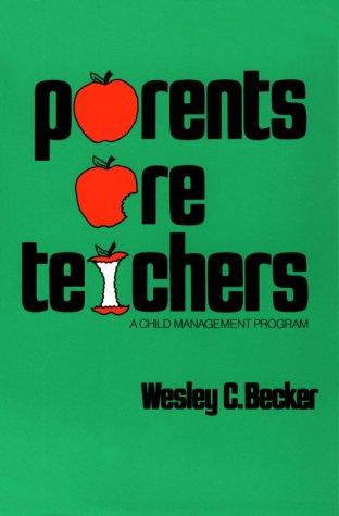 Parents Are Teachers: A Child Management Program