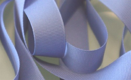 Periwinkle IRIS Grosgrain Ribbon 5/8 inch x 5 Yards