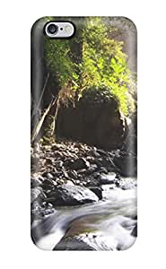 Ultra Slim Fit Hard Jeffrey Wasser Case Cover Specially Made For Iphone 6 Plus- Creek