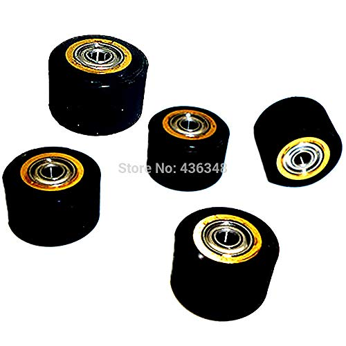 FINCOS 1/2/3/4/5/6/10pcs 3mmx11mmx16mm Pinch Roller Wheel for Roland Vinyl Plotter Cutter Extra Long Life Wheel Bearing Paper - (Color: 10pcs) by FINCOS (Image #4)