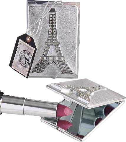 Eiffel Tower design mirror compacts [SET OF 12]]()