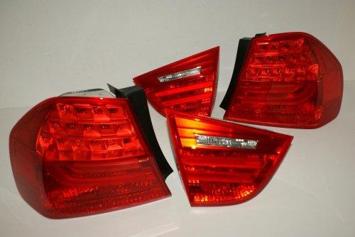 BMW 3 Series E90 LCI Rear LED Facelift Tail Lights Full Set 2008-2011