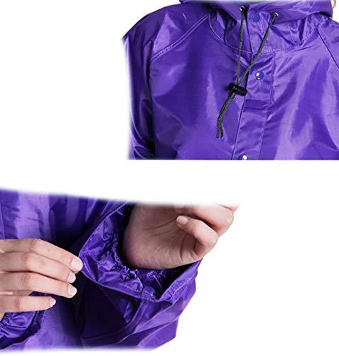 Adulto Ispessimento Dimensioni Maniche Hyuyi Lunghe Oxford colore Panno Piedi Xxxl Elettrica Impermeabile Auto A C Escursionismo Siamese BFFwPgxq