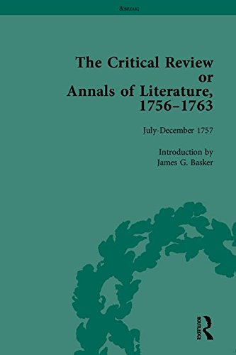 Read Online The Critical Review or Annals of Literature, 1756-1763 ebook