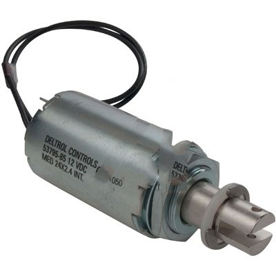 Deltrol Controls 53795-82 Solenoid Tubular MED24X2.4 24VDC Pull Continuous Duty 14W Wire leads