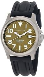 Momentum Men's 1M-SP00G1 Atlas Green Dial Black SLK Rubber Watch