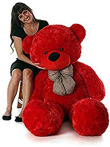 JST Teddy Bear Soft Toy  2 Feet, Beige, Cream