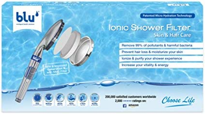 Ionic Shower Filter - Skin & Hair Care, Stop Hair Loss