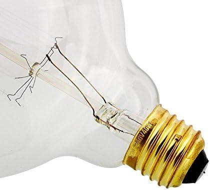 Gladle Bombilla bombillas Edison Vintage Incandescente E27 60W ...