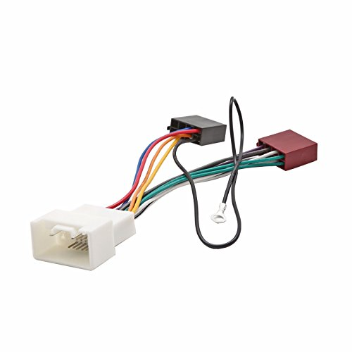 Inex ISO Wiring Harness Connector Adaptor Stereo Radio Lead loom for Citroen CCrosser: